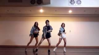 getlinkyoutube.com-EXID (이엑스아이디) - Ah yeah (아예) 무용과안무연습 ver.