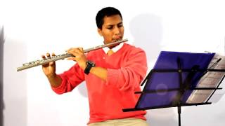 Kingdom melodies Songs 106, 4 medley Flute cover by Gabe