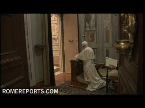 Benedict XVI begins spiritual retreat in the Vatican