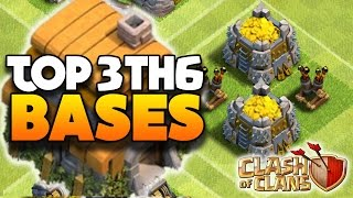 getlinkyoutube.com-Clash Of Clans - TOP 3 TH6 FARMING BASE w/2 Air Defenses! - CoC BEST TOWN HALL 6 DEFENSE 2016!