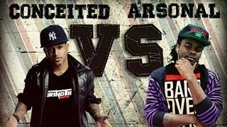 GTN Rap Battle-Conceited vs Arsonal (Full Battle)