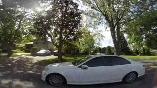 getlinkyoutube.com-Mercedes C250 resonator delete drive by