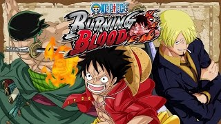 getlinkyoutube.com-Straw Hat Pirates Strongest Trio Vs The Three Admirals - One Piece: Burning Blood Gameplay