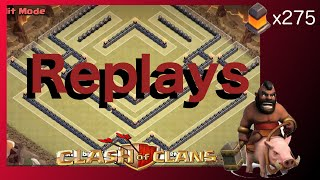 "getlinkyoutube.com-(REPLAYS) TH10 War Base! ""The Equinox"" (275 Walls) - Clash Of Clans"