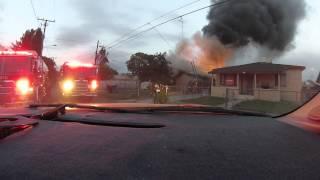 getlinkyoutube.com-House On Fire Explodes!