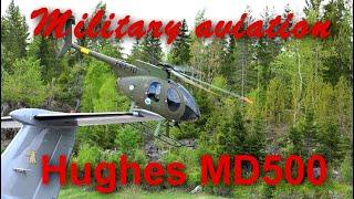 getlinkyoutube.com-Hughes 500 Helicopter airshow flight
