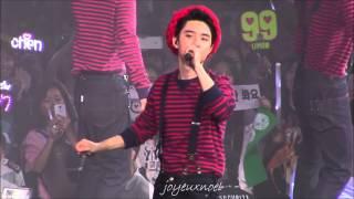 getlinkyoutube.com-[fancam]150531 EXO'luXion Shanghai Peter Pan~XOXO (D.O focus)