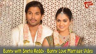 getlinkyoutube.com-Bunny with Sneha Reddy - Bunny Love Marriage Video