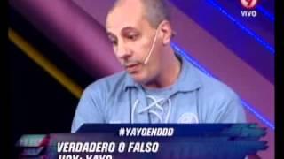 DURO DE DOMAR - VERDADERO O FALSO - YAYO - PRIMERA PARTE 8-06-12