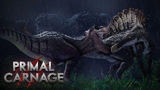 getlinkyoutube.com-T-Rex vs. Spinosaurus