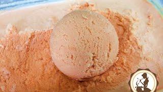 getlinkyoutube.com-ไอศครีมชาเย็นเนื้อเนียนนุ่มง่ายๆ by แหม่ม thai tea ice cream