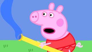 getlinkyoutube.com-Peppa Pig - Outdoor adventures with Peppa Pig! (25 minutes compilation)
