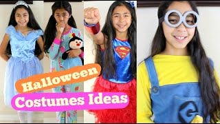 getlinkyoutube.com-Halloween Costumes Ideas Cinderella Super Girl Snow White Minion Rainbow Dash|B2cutecupcakes