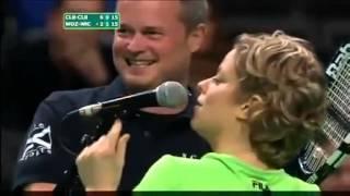 getlinkyoutube.com-فضيحة لاعبة التنس - بوس حار