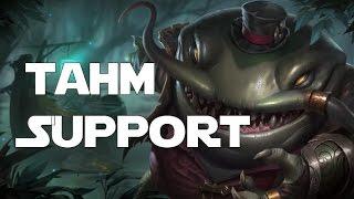 getlinkyoutube.com-League of Legends - Tahm Kench Support