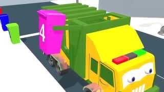getlinkyoutube.com-Learn numbers with garbage truck   English kids learning   Nursery Rhymes  Kids Song