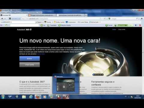 AutoCAD 2013 Aula 04: Autodesk 360