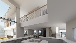 Revit Showcase Animation - House Design & Plans (see the old house change)