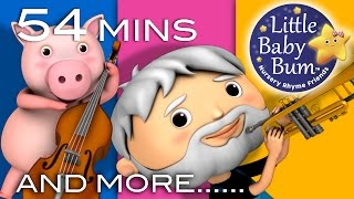getlinkyoutube.com-This Old Man He Played One | Plus Lots More Nursery Rhymes | 54 Mins Compilation from LittleBabyBum!