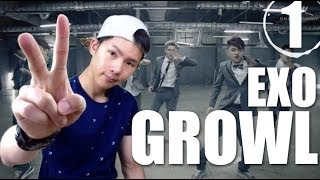 EXO -Growl | Step by Step Dance Tutorial Ep.1