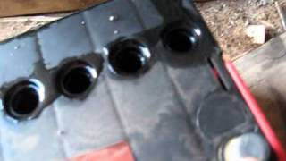 getlinkyoutube.com-Testing the Epsom salts Battery rejuvenate myth & testing on a 1981 Daihatsu Handivan
