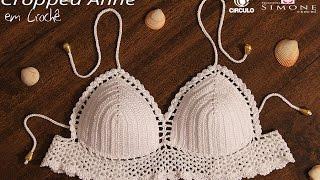 getlinkyoutube.com-Professora Simone - Cropped de Crochê Anne - Tamanho Único