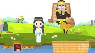 getlinkyoutube.com-Moses is Saved from The Pharaoh I Stories of Moses I Animated Children's Bible Stories