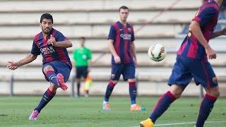 getlinkyoutube.com-FC Barcelona B - Selección Indonesia sub 19 (6-0)