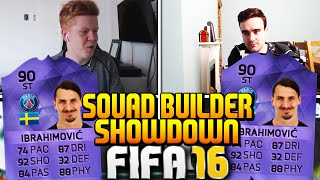 FIFA 16 SQUAD BUILDER SHOWDOWN WITH HERO IBRAHIMOVIC!!! 90 RATED INSANE PLAYER!