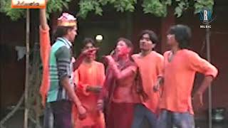 getlinkyoutube.com-Saya Saari Choli Rangla | Hot Bhojpuri Holi Song | Albela Maradwa