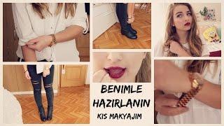 getlinkyoutube.com-Kış Makyajım Benimle Hazırlanın | Melisa Beleli & Elif's Diary