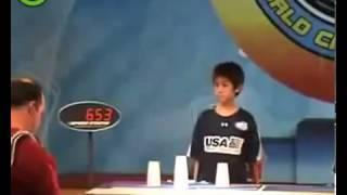 getlinkyoutube.com-الطفل الياباني صاحب اسرع يدين في العالم يدخل جينيس