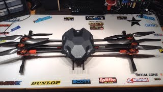 getlinkyoutube.com-Tarot 680 Pro Hexacopter Build-Assembly Part 4