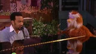 getlinkyoutube.com-Sesame Street: John Legend and Hoots