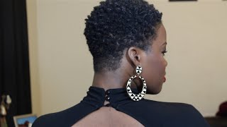 getlinkyoutube.com-The Big Chop & How I Style My TWA (4C)