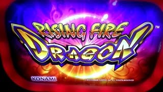 Rising Fire Dragon Slot Bonus # 2 Big Win - Konami