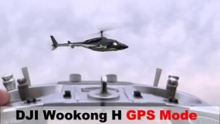 getlinkyoutube.com-Customize Airwolf 700size DJI Wookong H Ajust Flight FBL Head