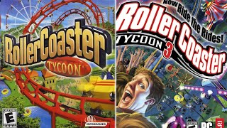 getlinkyoutube.com-Rollercoaster Tycoon ONE vs. THREE
