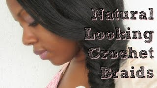 getlinkyoutube.com-Natural looking straight crochet braids | December 2015