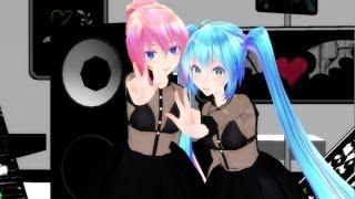 getlinkyoutube.com-【MMD】Glide - Luka & Miku