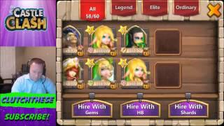 getlinkyoutube.com-Castle Clash Rolling for Orksbane! FINALLY!