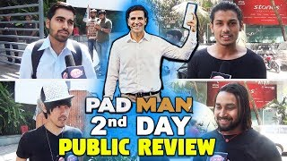 2nd Day Padman Movie Public Review | Reaction | Honest Review | Akshay Kumar