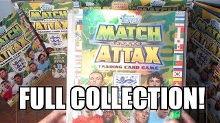 getlinkyoutube.com-MATCH ATTAX ENGLAND 2014 / WORLD STARS COMPLETE COLLECTION! YOUTUBE PREMIERE