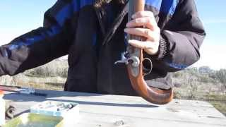 getlinkyoutube.com-HD loading&fireing of percussion cap black powder pistol muzzleloader
