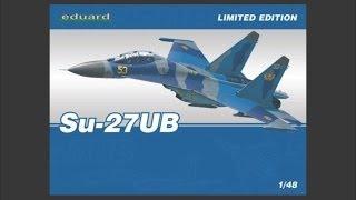 getlinkyoutube.com-Eduard 1/48 Su-27UB Limited Edition Scale Model Review