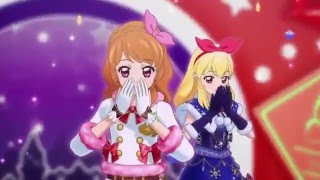 getlinkyoutube.com-(HD)Aikatsu! -Luminas&Ichigo&Mizuki&Juri Hello! -[Winter Love♪]- Episode 165