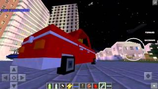 getlinkyoutube.com-Minecraft PE 0.15.6 VEHICULOS - OVNIS BICICLETAS PATRULLAS Y MAS!- MODS PARA POCKET EDITION