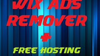 getlinkyoutube.com-How to remove Wix Ads +free hosting tutorial