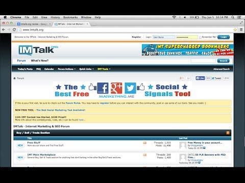Cara Mendapatkan 2500 Backlink Gratis dari IMTalk