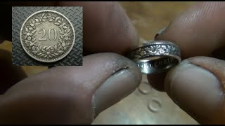 getlinkyoutube.com-Make Coin Rings With No Marring Marks - More Tips